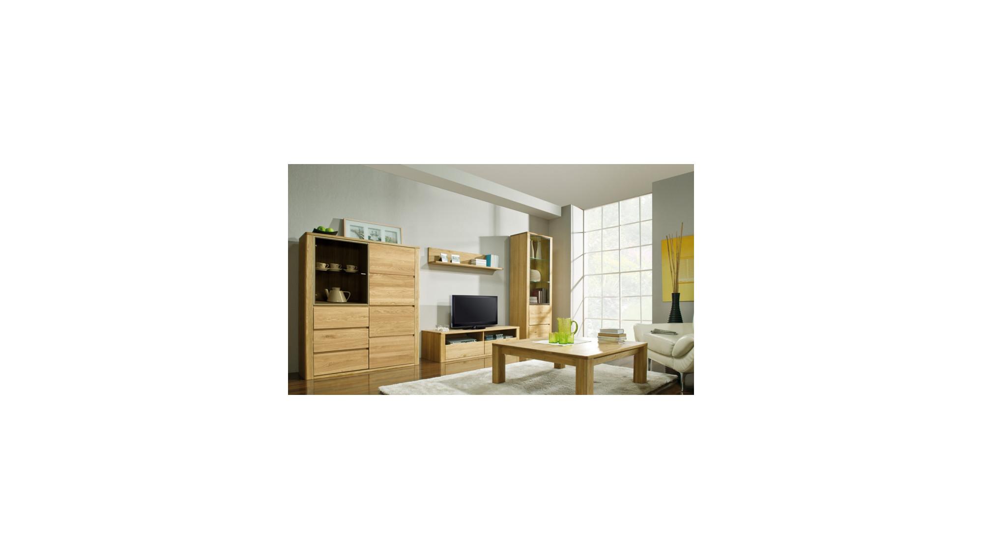 wohnwand aus eiche massiv nice. Black Bedroom Furniture Sets. Home Design Ideas