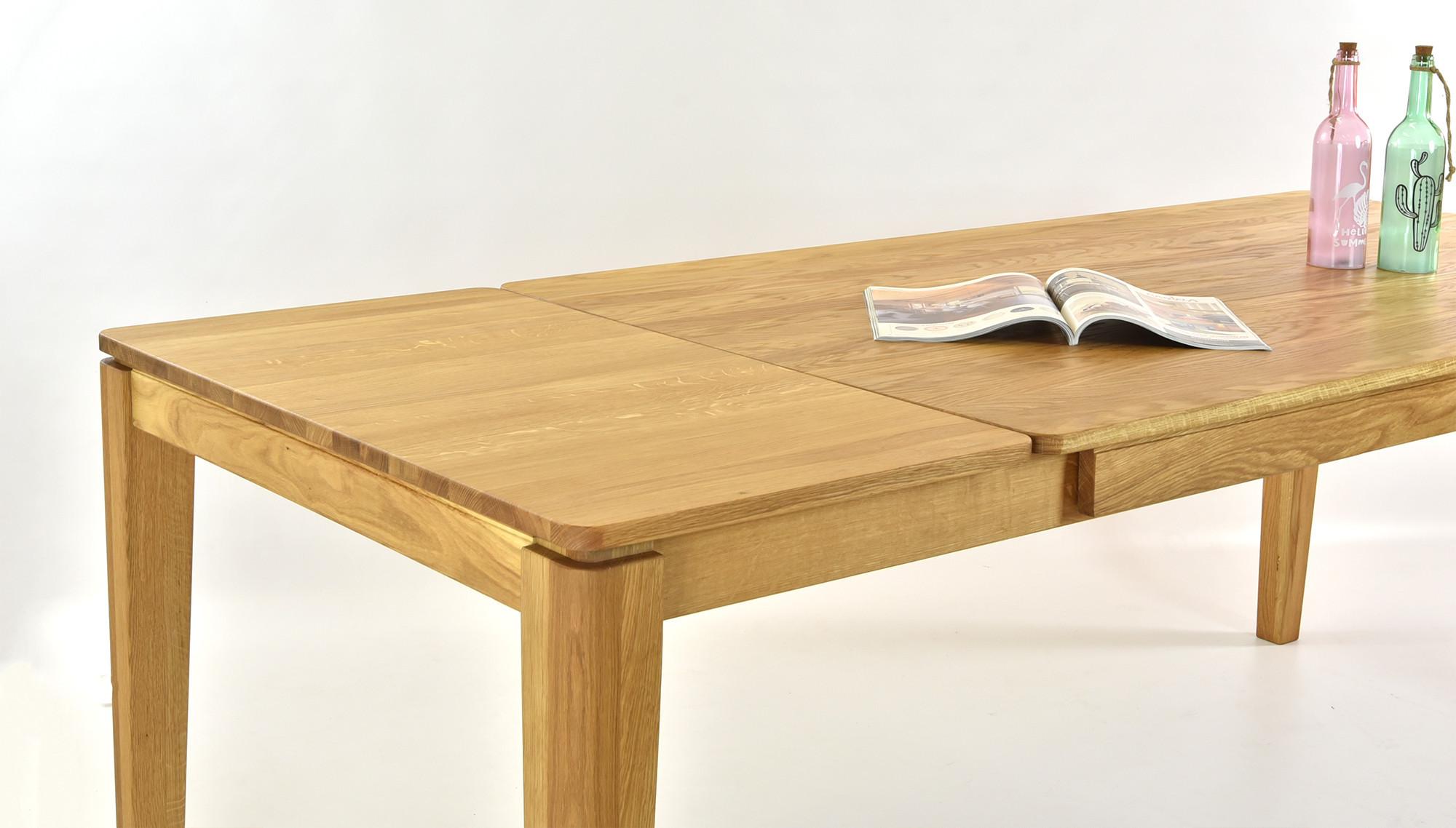 Esstisch aus massivholz ausziehbar houston for Esstisch ausziehbar massivholz