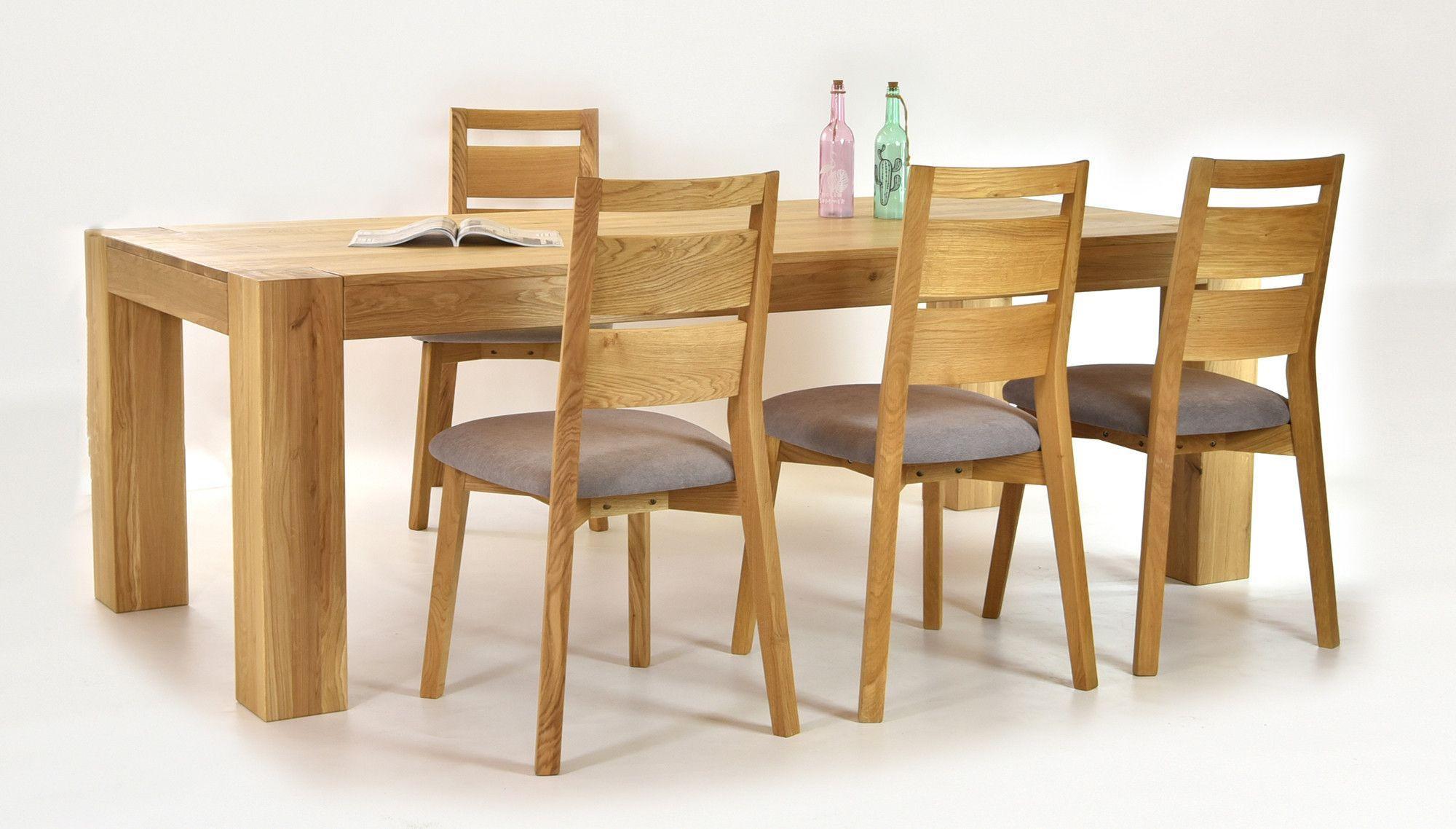Luxusm bel zum esszimmer esstisch aus eichenholz george for Eichenholz esstisch