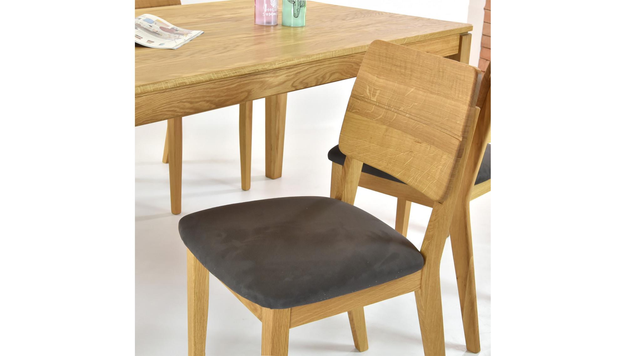esstisch f r 6 personen esszimmerst hle aus eichenholz. Black Bedroom Furniture Sets. Home Design Ideas