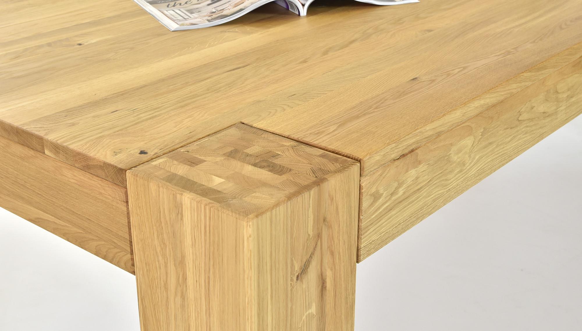 Esstisch aus eichenholz george for Eichenholz esstisch