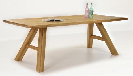 Massivholztisch für acht Personen, ASPEN