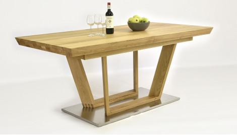 Luxus Holztisch aus Eiche, ausziehbar Maestro